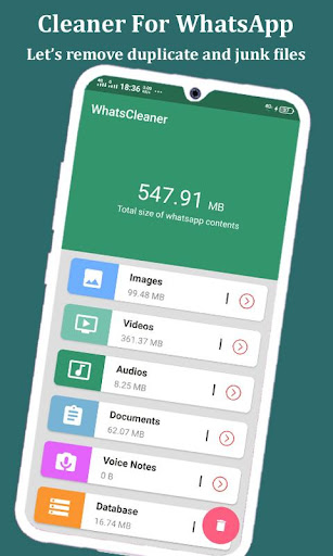 Cleaner for whatsapp : Remove duplicate files ss1