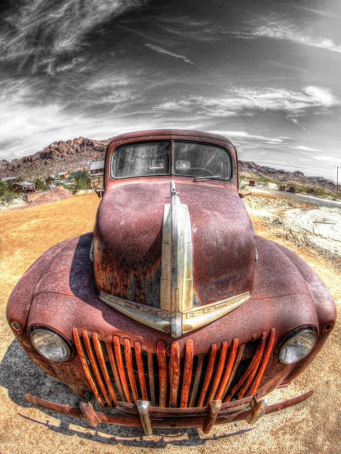 The King by Martin Dunaway - Transportation Automobiles ( hdr, truck, hot rod,  )