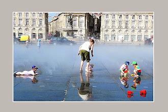 Photo: Au miroir d'eau