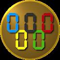 Stopwatch Olympics icon