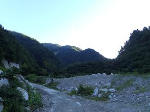 ブナグラ谷へ