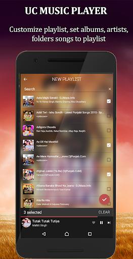 UC Music Player 2018 1.0 screenshots 4