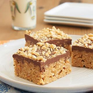 Chocolate Peanut Butter Crispy Treats Recipe