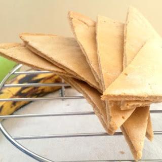 Easy Plantain Flat Bread.