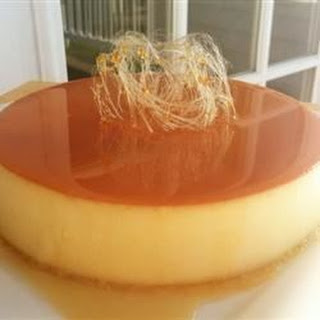 Baked Flan.