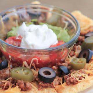 Minute Microwave Crunchy Nachos.
