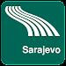 Sarajevo Map offline Icon