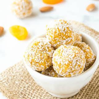 Apricot Almond Coconut Energy Bites.