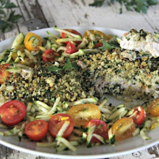 Herb Crumbed Fish.