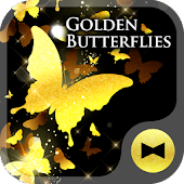 Golden Butterflies +HOME Theme