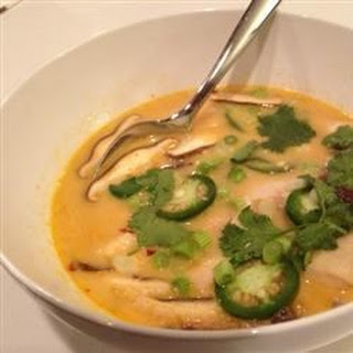 Authentic Thai Coconut Soup