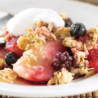 Berry Oat Crumble.