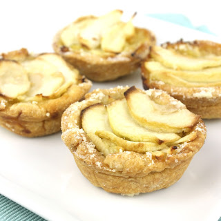 Caramelised Apple Tarts