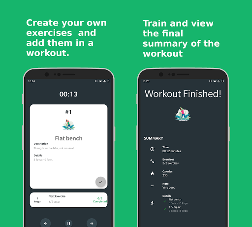 Download Workout Diary - Trainings plan - Fitness tracker 4.0.1-3 2