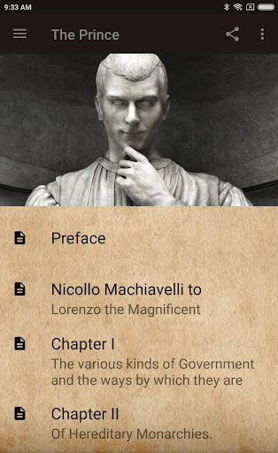 THE PRINCE BY NICCOLu00d2 MACHIAVELLI + STUDY GUIDE 2.4 screenshots 1