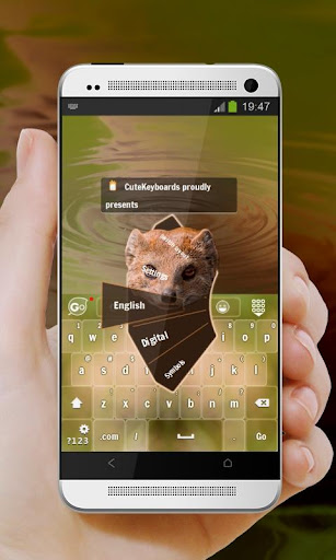毛茸茸的貓鼬 GO Keyboard
