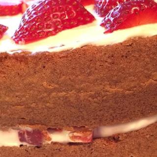 Whipped Cream Cake II Recipe