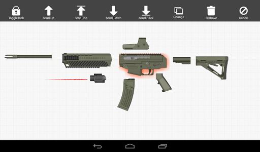 Weapon Builder Pro screenshot 1