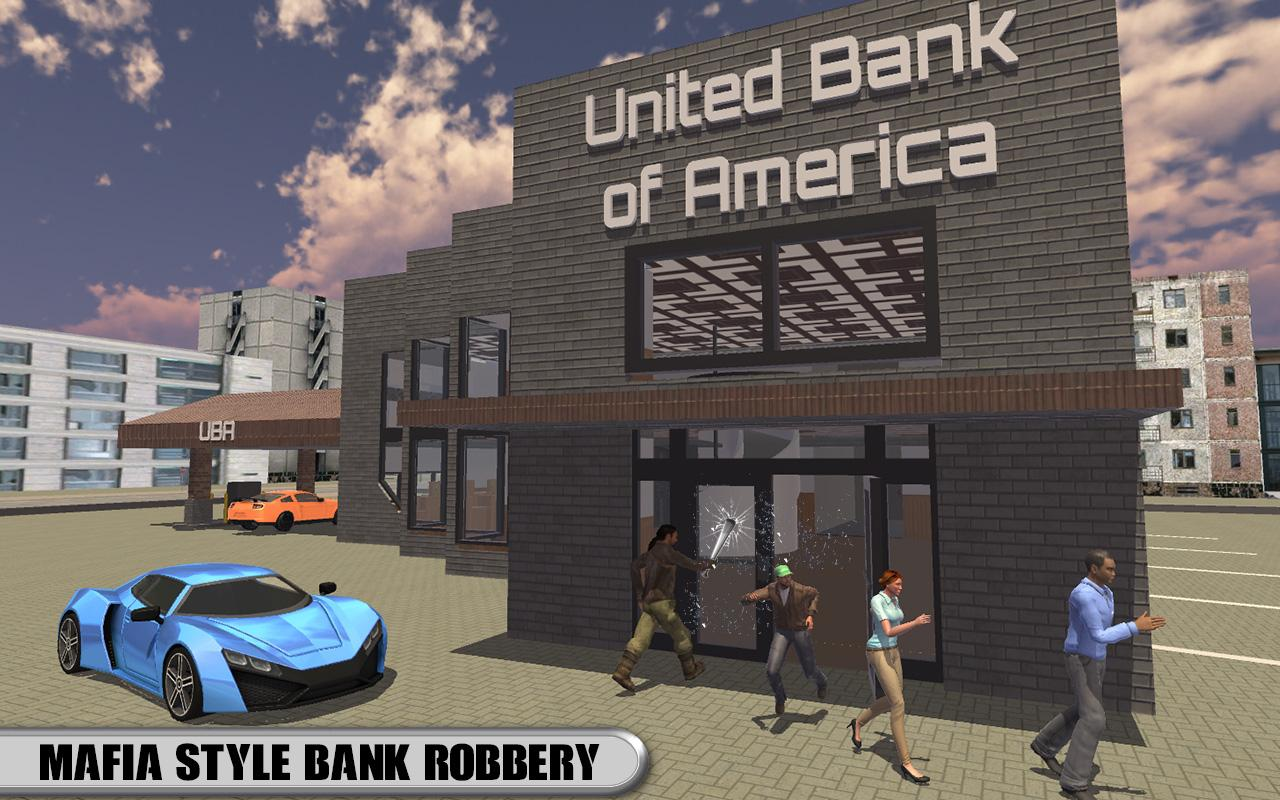 Mad City Mafia Robbery Master- screenshot