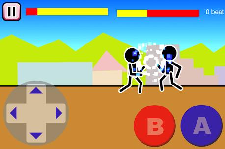 Fighting games Mokken: stick man battle 2