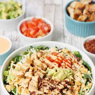 5-Minute Southwest BLT Chicken Salad.