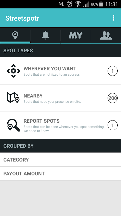 Streetspotr- screenshot