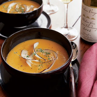 Butternut Squash Soup with Coconut and Ginger