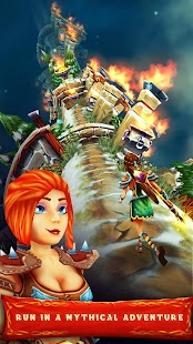 Asgard Run: Crush Your Enemies Screenshot
