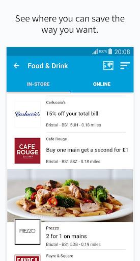 vouchercloud: deals & offers screenshot 4