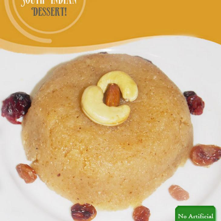 Rava Kesari | Semolina Pudding | Indian Dessert