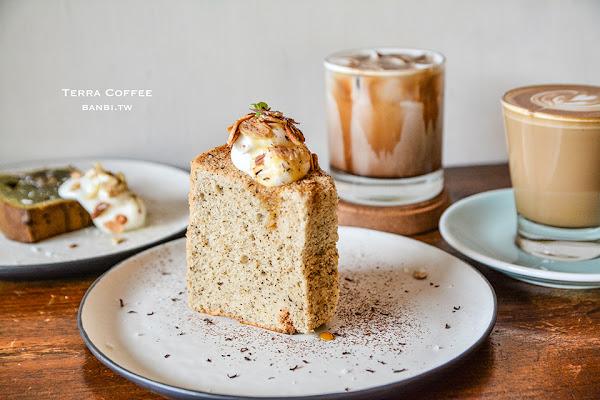 台北Terra Coffee德樂咖啡-靜匿空間與柔軟甜點,民權西路站美食
