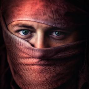 RED NINJA by Anthony Austria - Digital Art People