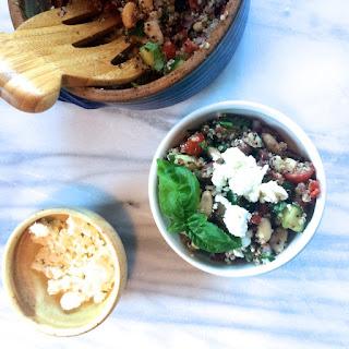 Mediterranean Quinoa Chop Salad