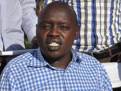 Senator Cherargei speaking in Eldoret