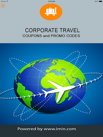 android Corporate Travel Coupons-Im In Screenshot 2