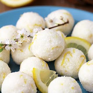 Coconut Lemon Protein Bliss Balls Recipe