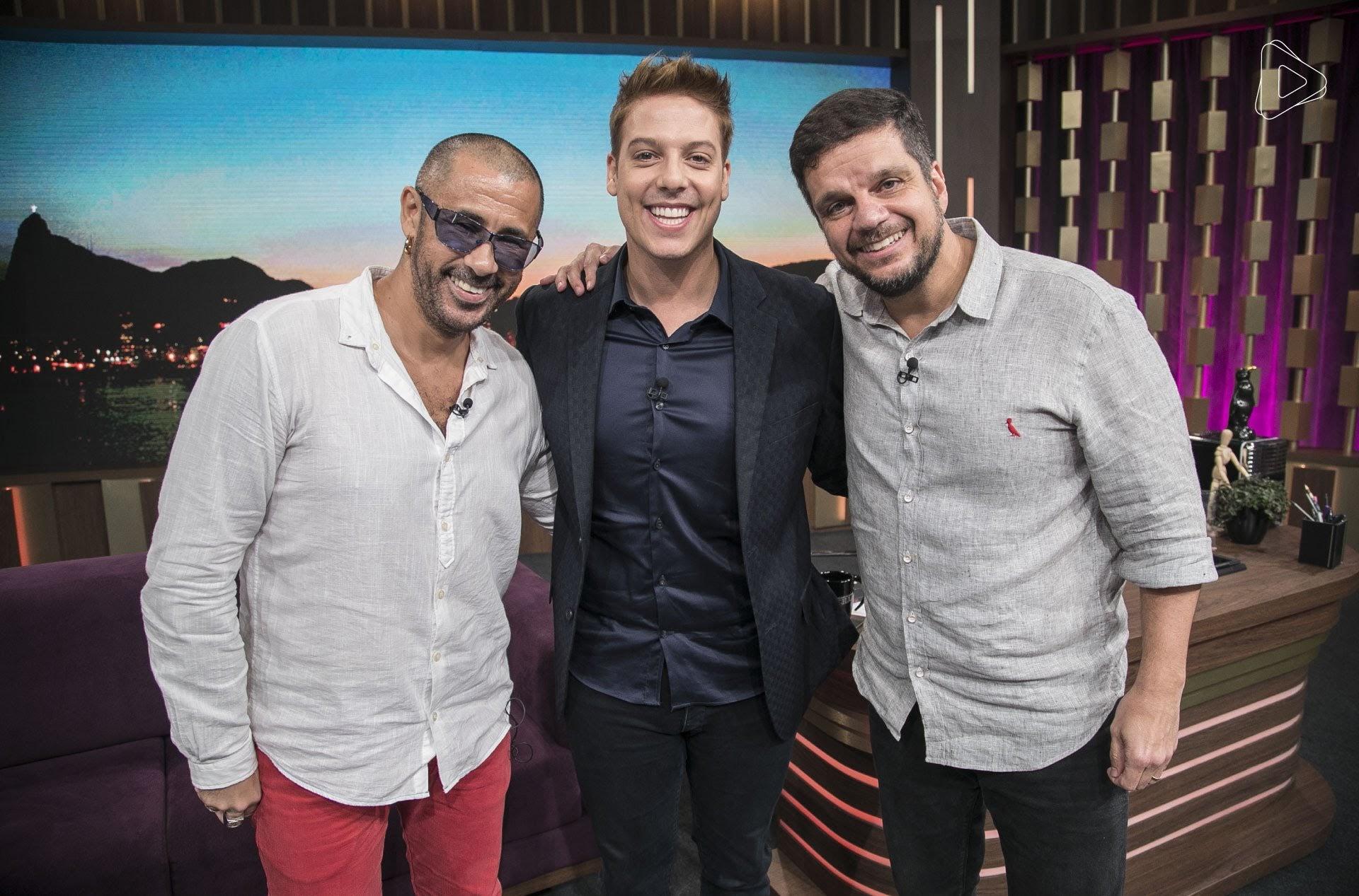 José Júnior, fundador da ONG AfroReggae, e Rodrigo Pimentel, ex-capitão do Bope