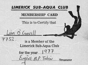 Photo: Liam O'Connell's membership Card