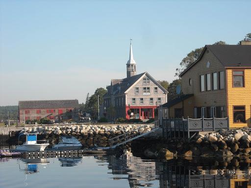 Take a boat tour of quaint, bucolic McNutts Island in Shelburne, Nova Scotia.