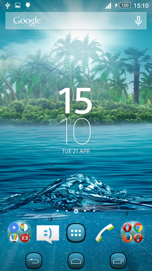 Theme Xperien Fantasy Island - Android Apps on Google Play