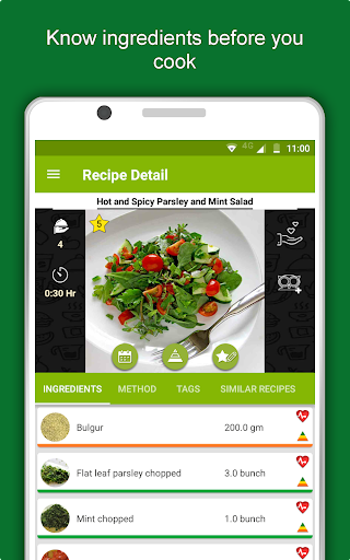 Salad Recipes: Healthy Foods with Nutrition & Tips 2.2.4 screenshots 14