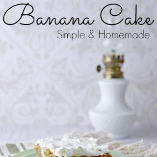 Banana Cake No Eggs Recipes.