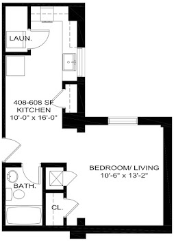 Go to The 408-608 Floorplan page.