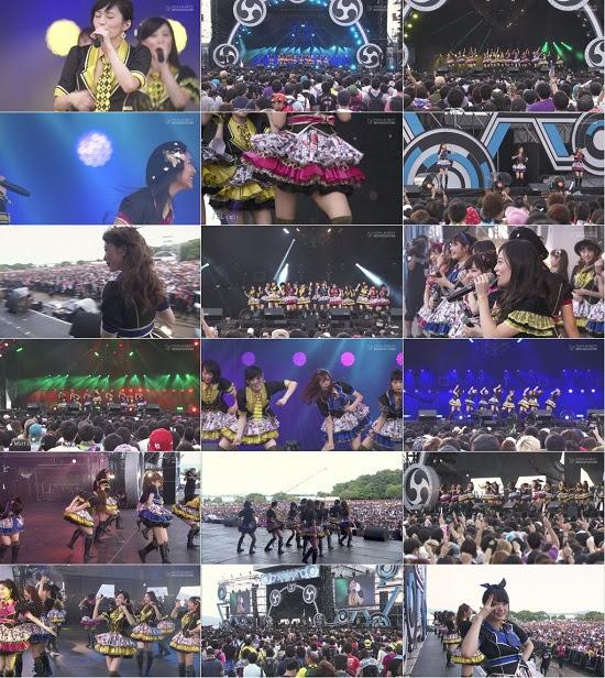(TV-Music)(1080i) NMB48 Part – イナズマロック フェス 2015 Day1 151121