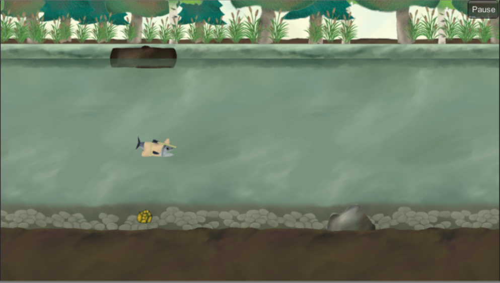 Super Salmon Migration Demo- screenshot
