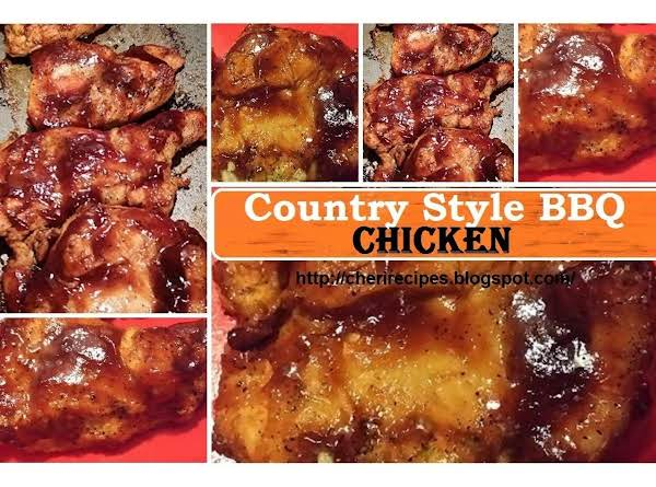 This Is My Recipe For Bbq Chicken That I Make My Own Special Bbq Sauce, Not Any Bottled For This Dish.