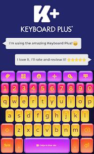 Colorful Keyboard - náhled