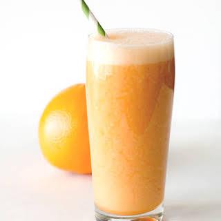 Orange Grapefruit Smoothie.