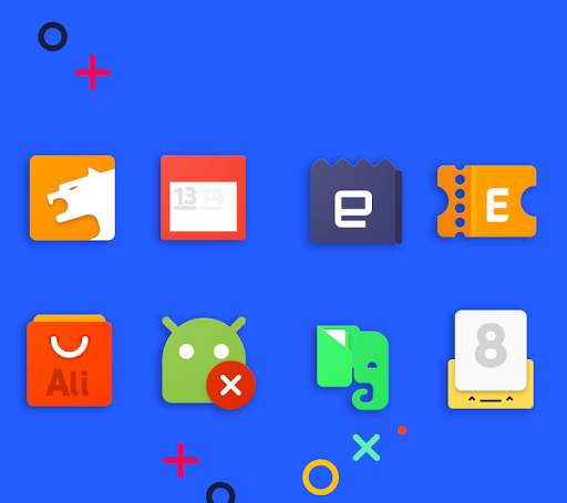 Frozy / Material Design Icon Pack screenshot 14