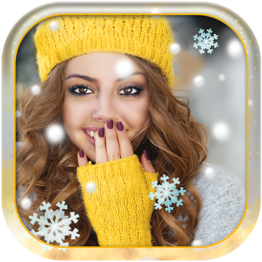 Merry Christmas Photo Editor With Snow Effects